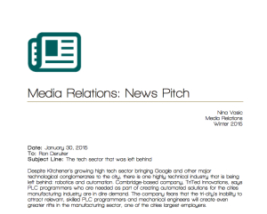 MediaRelations-News Pitch-TriTedInnovations