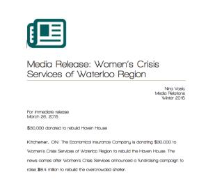 MediaRelease-WomensCrisisServicesofWaterlooRegion